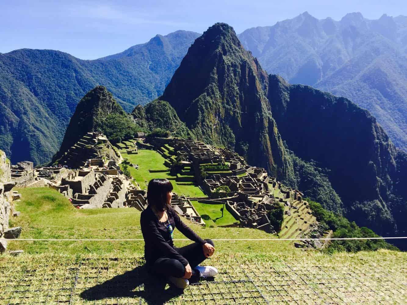 Entrada a Machu Picchu